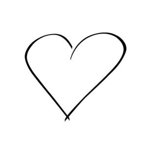 Motivstempel Herz