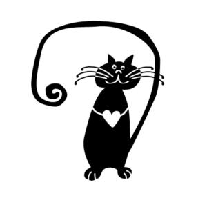 Motivstempel Katze