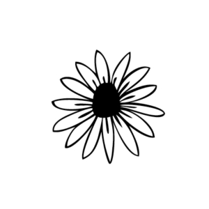 Motivstempel Sonnenhut / Echinacea